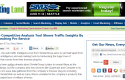 SimilarWeb Competitive Analysis Tool Shows Traffic Insights By Source Launching Pro Service
