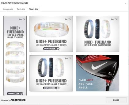 Nike Flash Ad