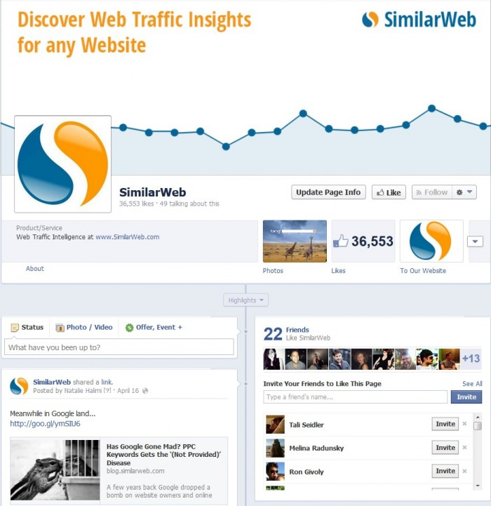 SimilarWeb-Facebook-Page