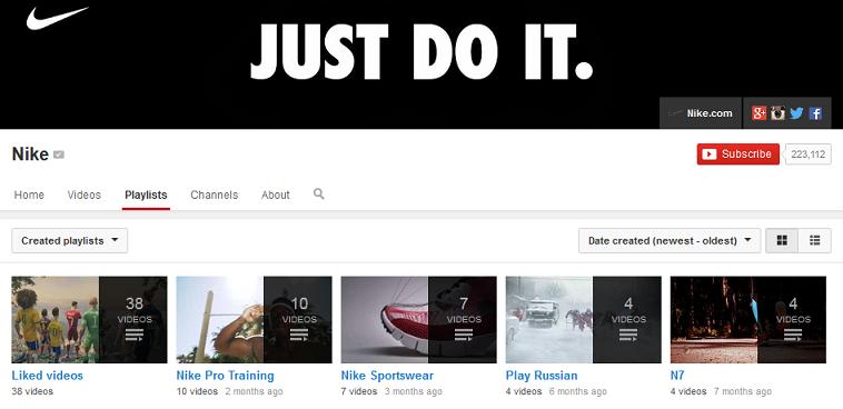 NikePlaylist