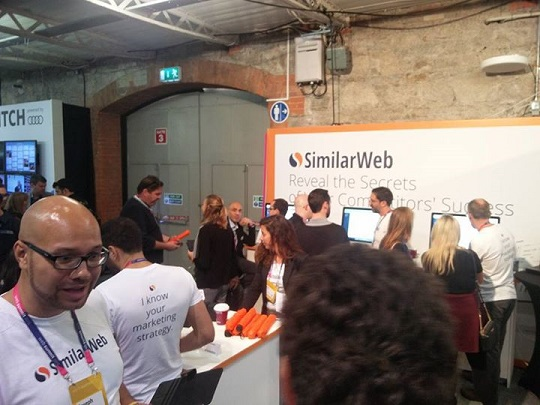 SimilarWeb at Web Summit 2015